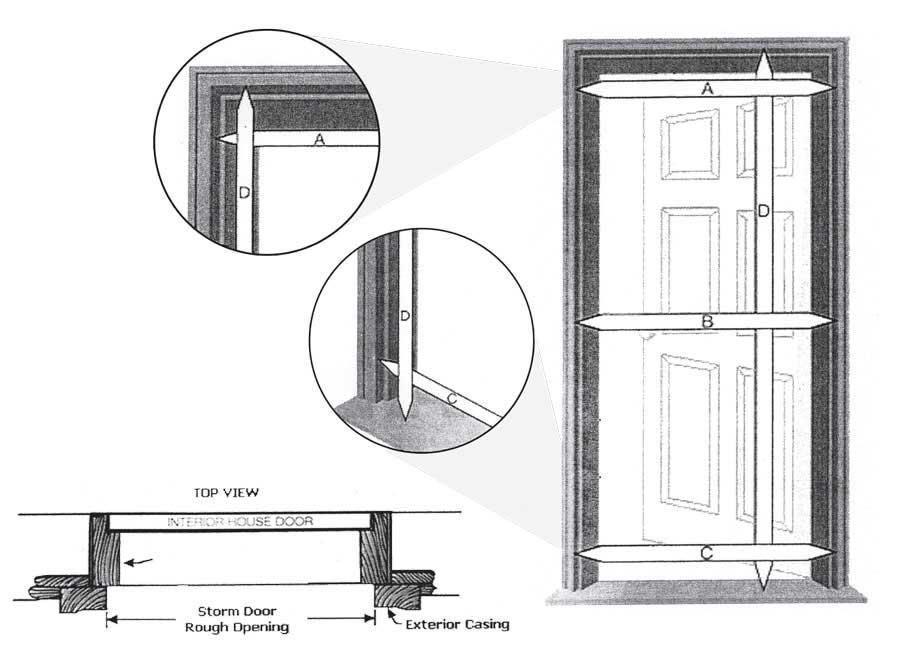 Aluminum concession parts manufacturer j r aluminum for Storm door manufacturers